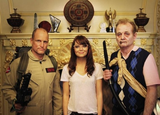 Woody Harrelson.  Emma Stone.  Bill Murray.