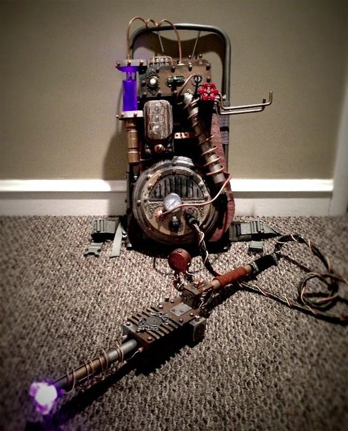 Steampunk Ghostbusters ProtonPack