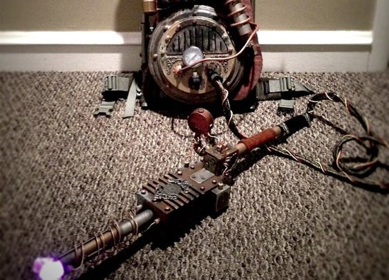 Steampunk Ghostbusters Proton Pack