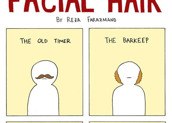 The Illustrated Guide to Facial Hair