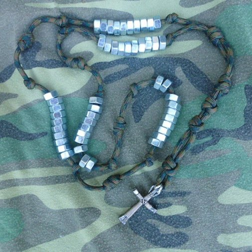 The Combat Rosary | Cord Bands