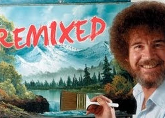 The Legend, Bob Ross - Happy Little Clouds Remix