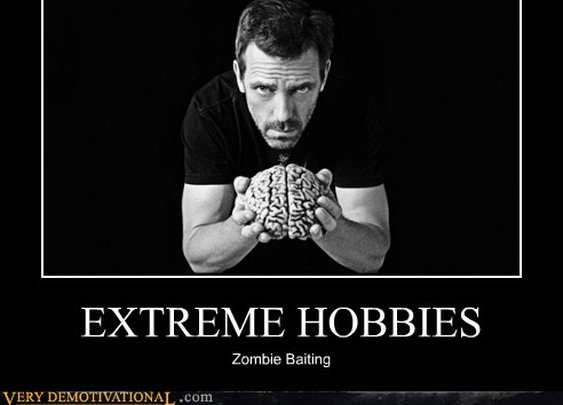 EXTREME HOBBIES- Zombie Baiting
