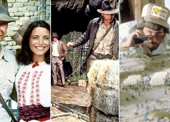 Indiana Jones: Awesome Behind-the-Scenes Photos From 'Raiders of the Lost Ark'