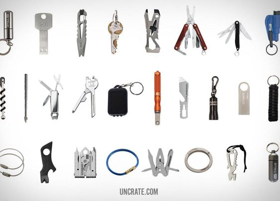 WeLiveForWeapons.com - EDC Keychain Essentials