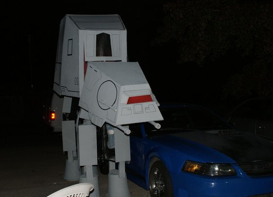 2012 Starwars ATAT Imperial Walker build