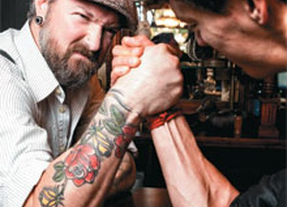 You're Doing It Wrong: Arm Wresting