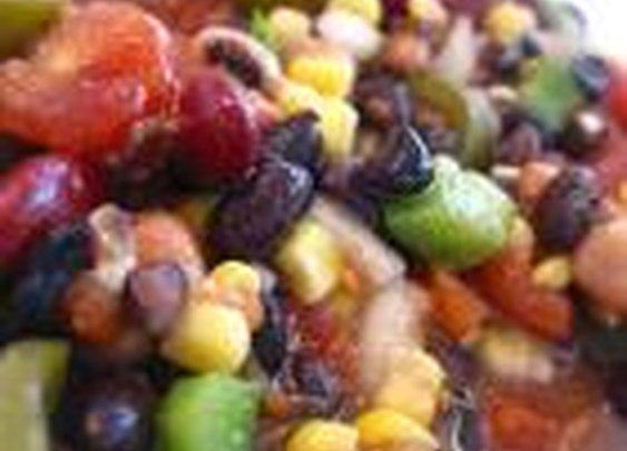 Fresh Corn and Black Bean Salsa