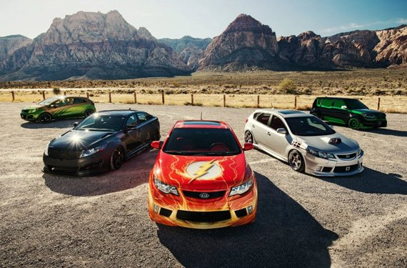 Justice League Inspired Kia Cars (8 pics)