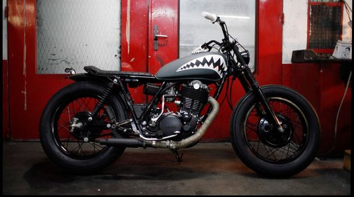 Blitz Motorcycles - Yamaha 500 SR 'Flying Tiger'