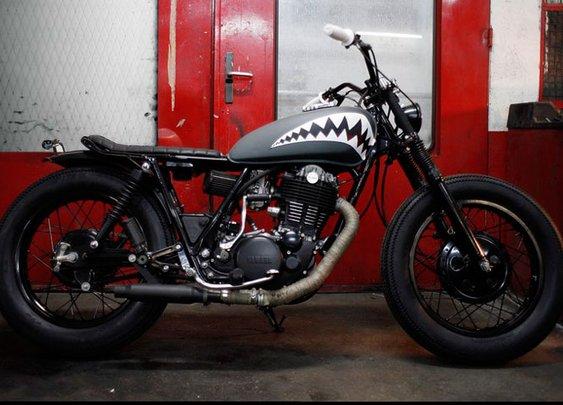 Blitz Motorcycles - Yamaha 500 SR 'FlyingTiger'