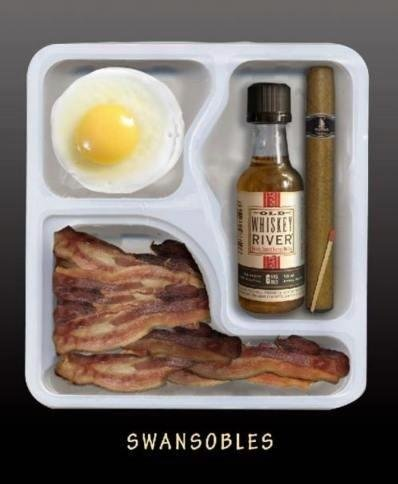 Ron Swanson's Lunchable.