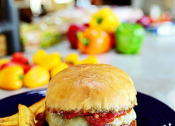 Pepperoni Pizza Burgers |  The Pioneer Woman Cooks | Ree Drummond