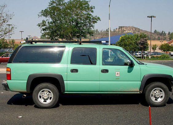 USDA Forest Service Chevy Suburban | Flickr