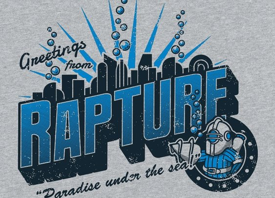 Greetings from Rapture T-Shirt