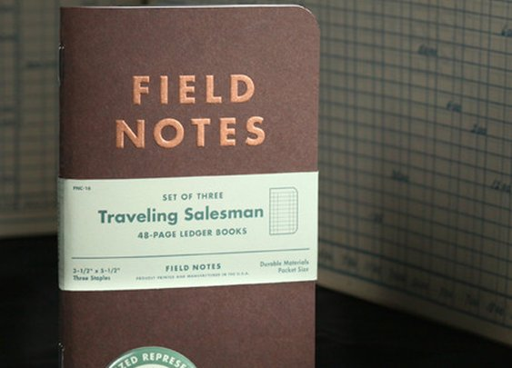Petaluma Supply Co. - Field Notes Traveling Salesman Edition