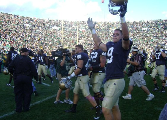 Notre Dame Rallies Past Pitt - The Guys Corner