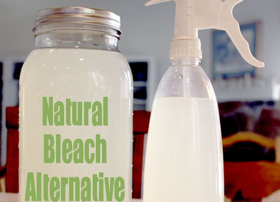 A Natural Bleach Alternative | One Good Thing by Jillee