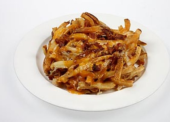 Outback Steakhouse Aussie Cheese Fries - Top 10 Worst Fast-Food Meals - TIME