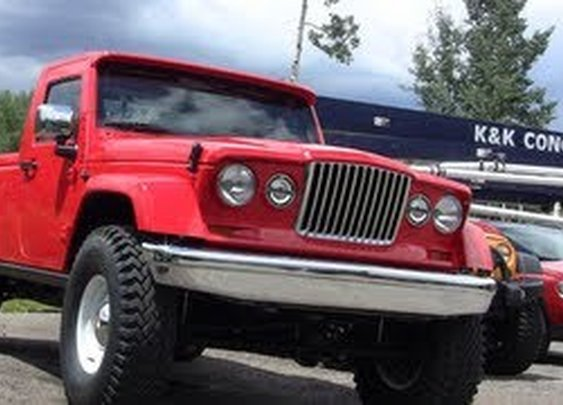 Prototypes Revealed: Jeep J-12 Concept - Please Make THIS!!!!