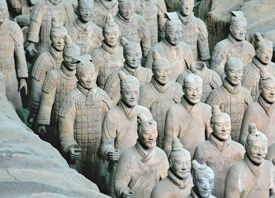 Terracotta Army makers beat Toyota by 2,200 years - Asia - World - The Independent