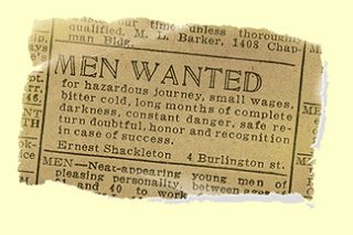 Ernest Shackleton and Life's Greatest Adventure