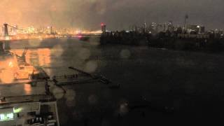 Time-Lapse of Sandy Hitting NYC
