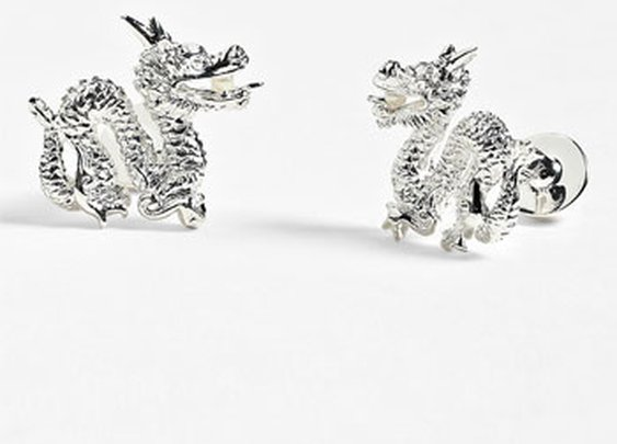 Thomas Pink 'Chinese Dragon' Cuff Links | Nordstrom