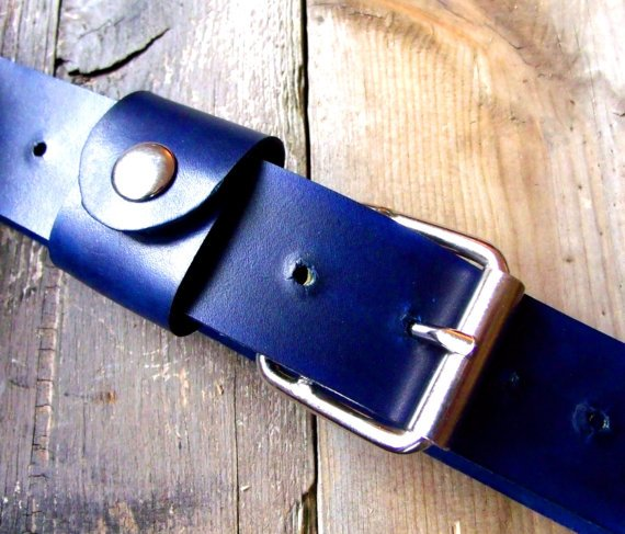 American-Made Leather Belts from Chicago