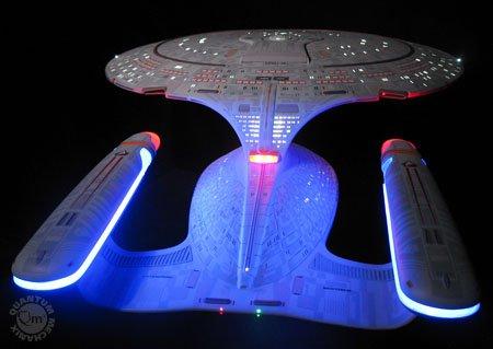 Enterprise D Artisan Replica: cost- $9,995.00