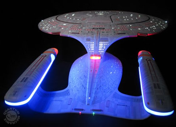 Enterprise D Artisan Replica: cost- $9,995.00
