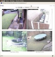 ZoneMinder - ZoneMinder: Linux Home CCTV and Video Camera Security with Motion Detection