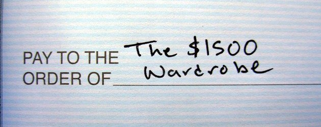 The $1500 Wardrobe – The Rest