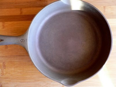 Easy Cast Iron Skillet Reconditioning