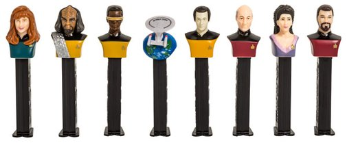 Limited Edition Star Trek Pez Set
