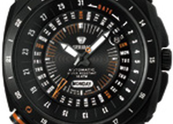 Automatic Retro Future Men's Blk by J. Springs by Seiko