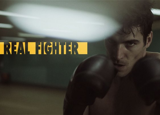 Real Fighter: A Superhero Documentary