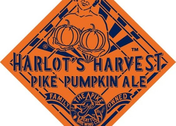Harlot's Harvest Pike Pumpkin Ale :: Pike Brewing Company