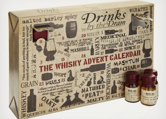 The Whisky Sampler Advent Calendar