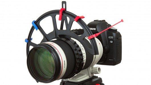 FocusMaker brings follow focus to any DSLR lens