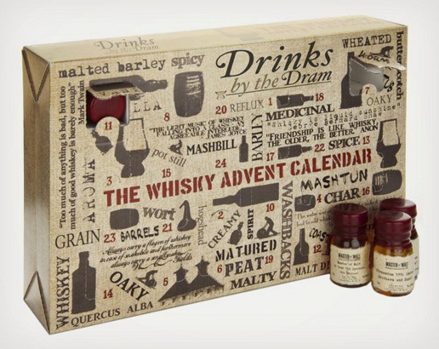 Whiskey Advent Calendar (This would last me three days, tops)