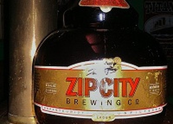 Beer Relics – Zip City Brewing Growler | Delaware Valley Beer Bloggers
