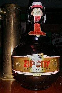 Beer Relics – Zip City Brewing Growler | Delaware Valley Beer Bloggers