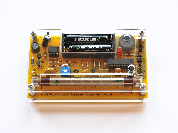 Geiger Counter Kit — DIY How-to from Make: Projects