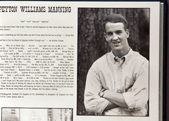 How Super Athletes Looked In Their High School Yearbook - StumbleUpon