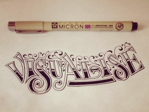 The Hand-Lettering of Sean McCabe