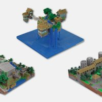 This Company Will Make Real-Life Miniatures Out Of Your Minecraft World