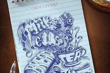 World's Coolest Grocery List