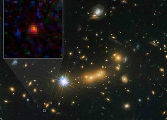 Farthest Known Galaxy in the Universe Discovered