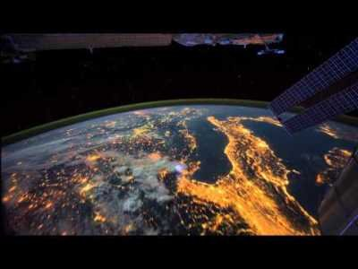 View of Earth from the ISS (Time-lapse)   ClickExist